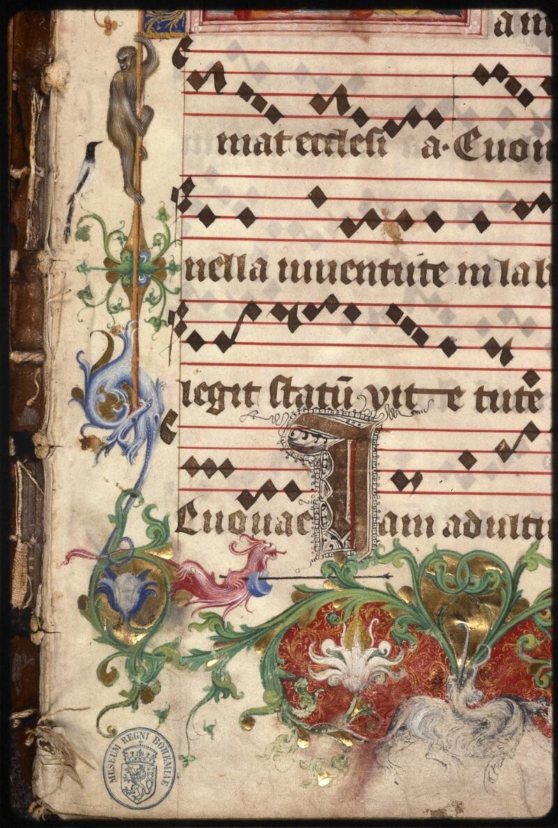 Prague, Musée nat., Bibl., XII. A. 18, f. 001 - vue 5