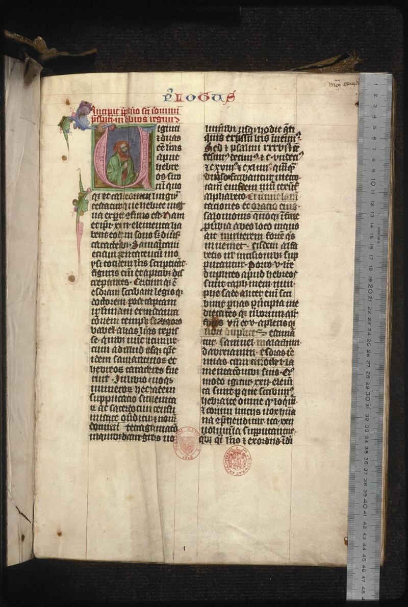 Prague, Musée nat., Bibl., XII. A. 19, f. 001 - vue 1