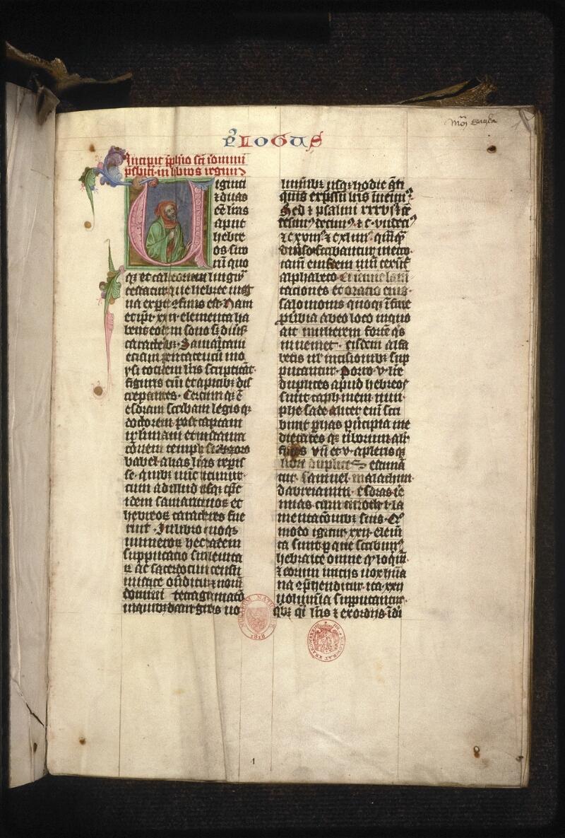 Prague, Musée nat., Bibl., XII. A. 19, f. 001 - vue 2