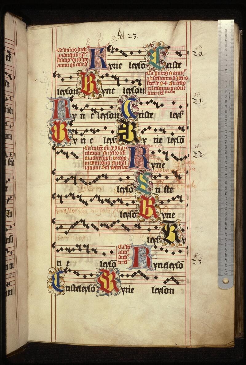Prague, Musée nat., Bibl., XII. A. 20, f. 022 - vue 1