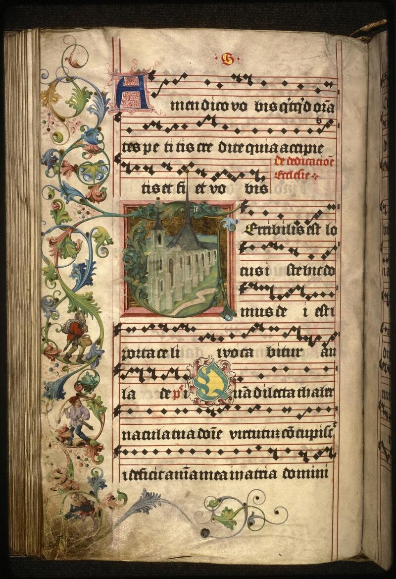 Prague, Musée nat., Bibl., XII. A. 20, f. 190v - vue 1