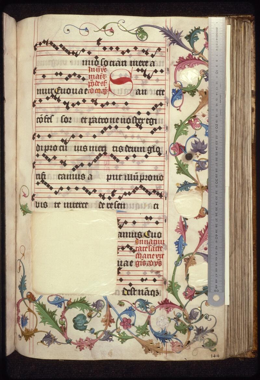 Prague, Musée nat., Bibl., XII. A. 21, f. 144 - vue 1