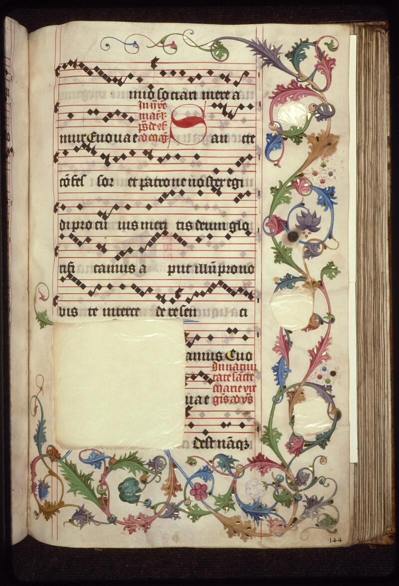 Prague, Musée nat., Bibl., XII. A. 21, f. 144 - vue 2