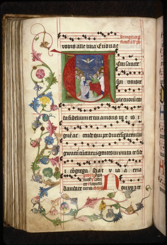 Prague, Musée nat., Bibl., XII. A. 22, f. 176v - vue 2