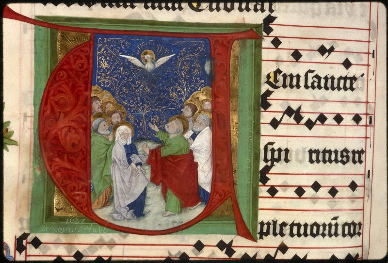 Prague, Musée nat., Bibl., XII. A. 22, f. 176v - vue 3