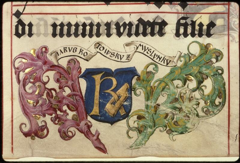 Prague, Musée nat., Bibl., XII. A. 23, f. 084