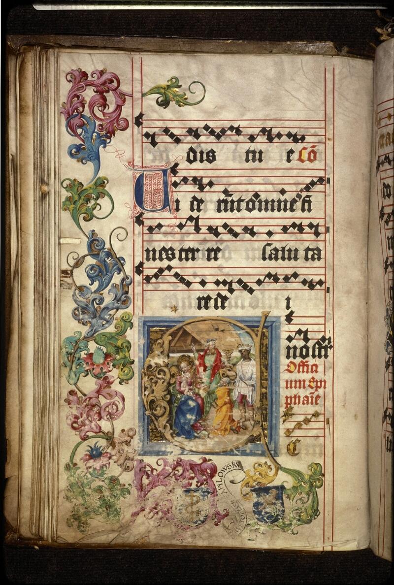 Prague, Musée nat., Bibl., XII. A. 23, f. 107v - vue 2