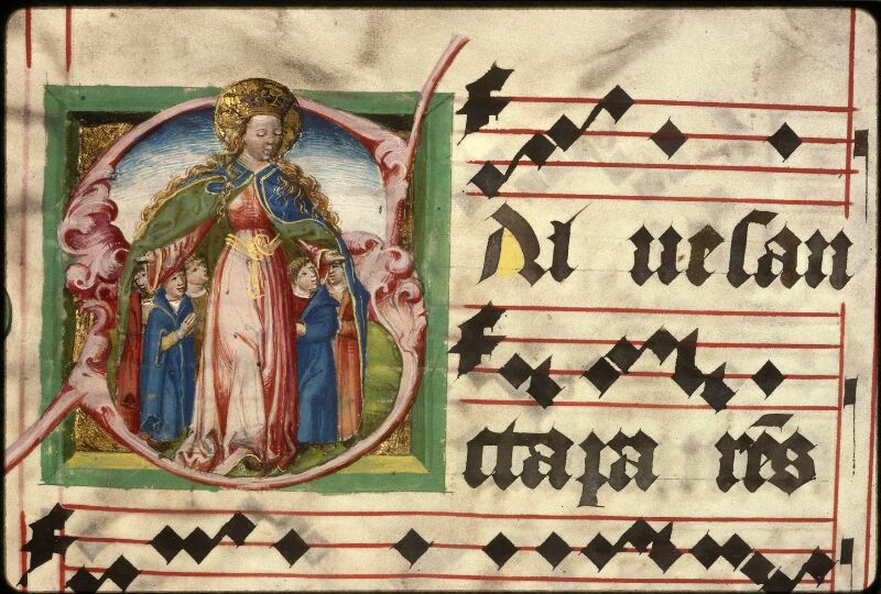 Prague, Musée nat., Bibl., XII. A. 23, f. 232v - vue 1