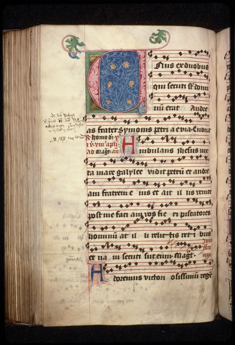 Prague, Musée nat., Bibl., XII. A. 24, f. 176v - vue 2