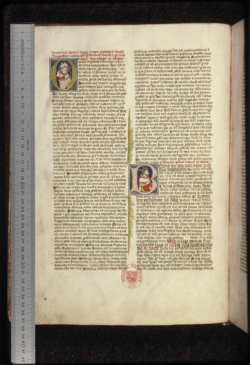Prague, Musée nat., Bibl., XII. B. 08, f. 002v - vue 1
