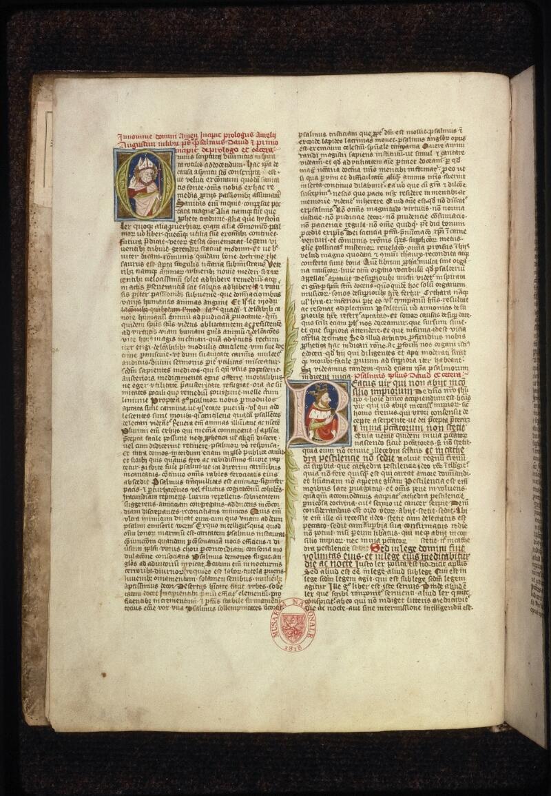 Prague, Musée nat., Bibl., XII. B. 08, f. 002v - vue 2