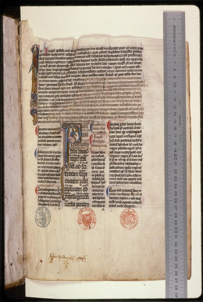 Prague, Musée nat., Bibl., XII. B. 12, f. 002 - vue 1