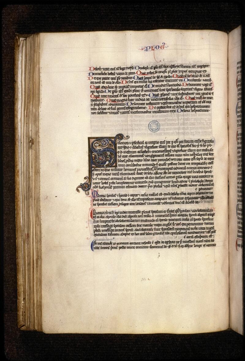 Prague, Musée nat., Bibl., XII. B. 12, f. 074v - vue 1