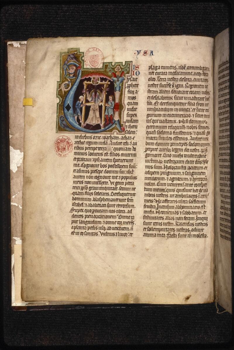Prague, Musée nat., Bibl., XII. B. 13, f. 002v - vue 2