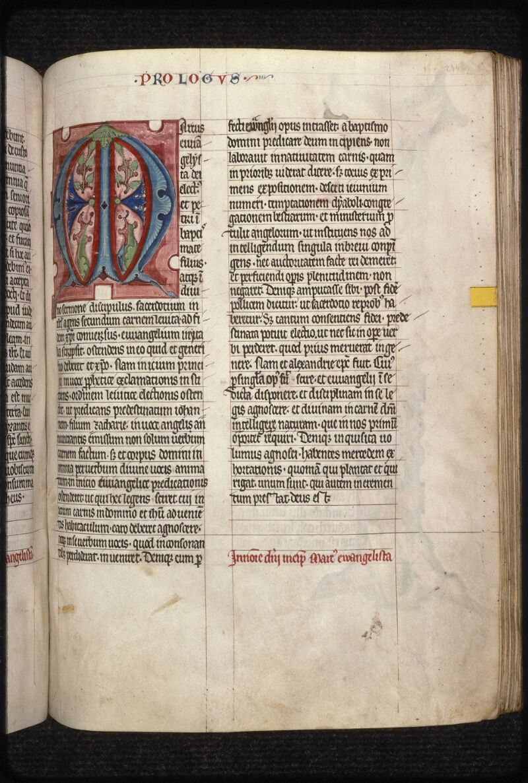 Prague, Musée nat., Bibl., XII. B. 13, f. 244