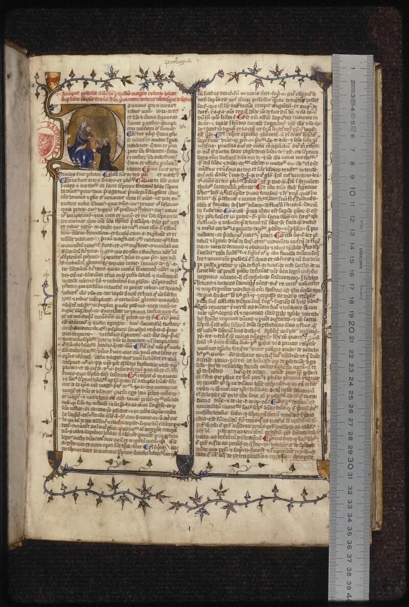 Prague, Musée nat., Bibl., XII. B. 14, f. 002 - vue 1