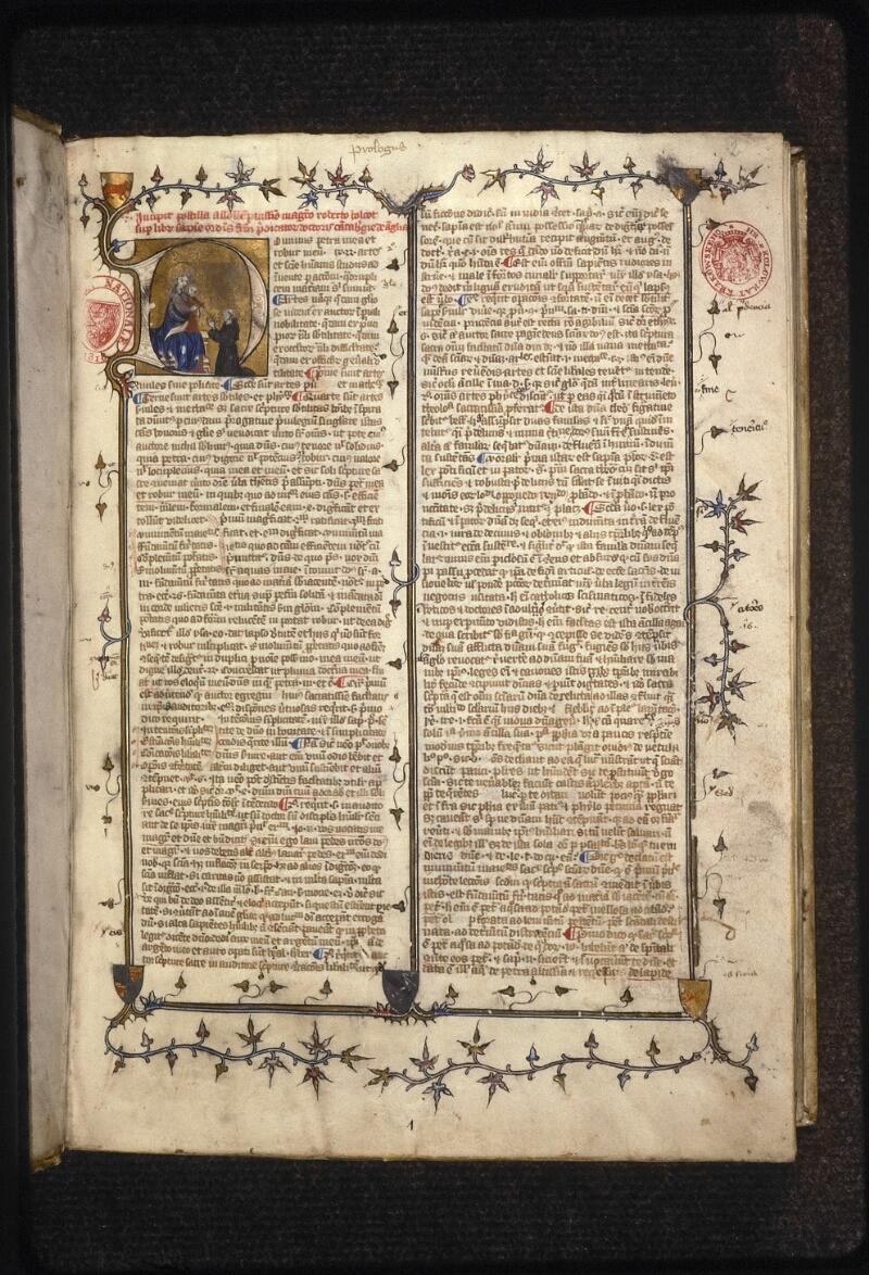 Prague, Musée nat., Bibl., XII. B. 14, f. 002 - vue 2
