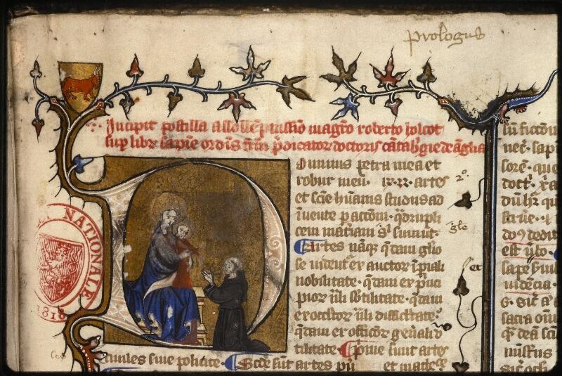 Prague, Musée nat., Bibl., XII. B. 14, f. 002 - vue 3