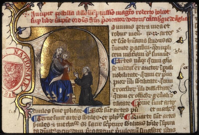 Prague, Musée nat., Bibl., XII. B. 14, f. 002 - vue 4