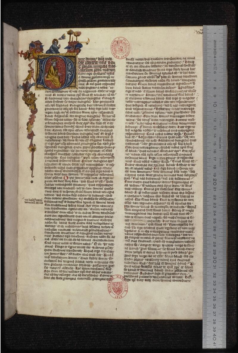 Prague, Musée nat., Bibl., XII. B. 15, f. 001 - vue 1