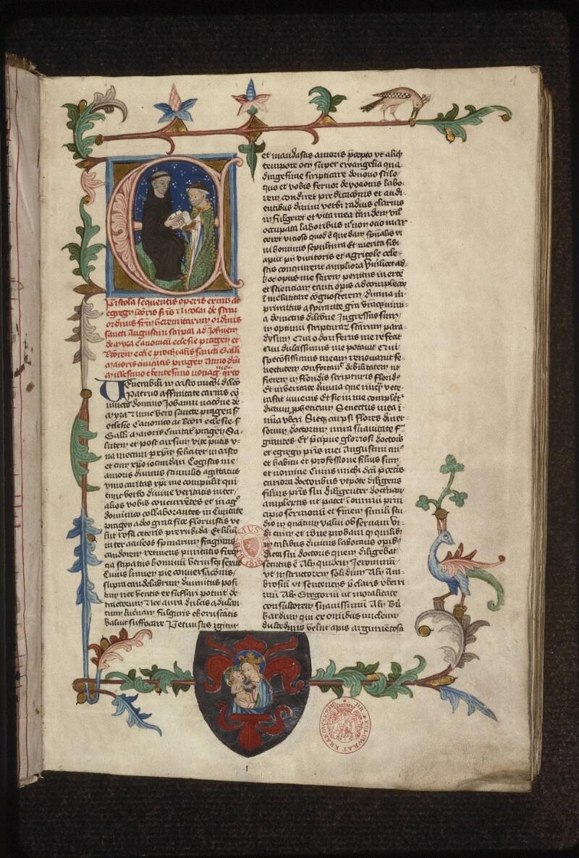 Prague, Musée nat., Bibl., XII. B. 16, f. 001 - vue 2