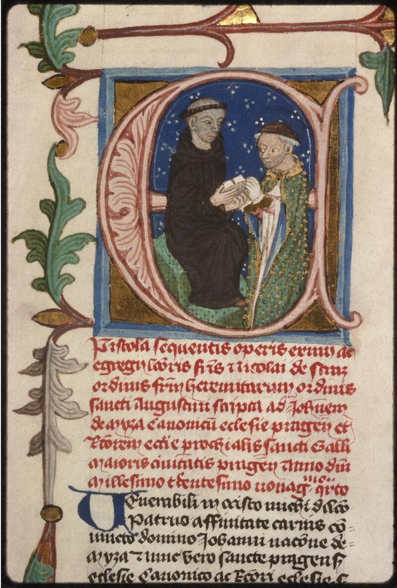 Prague, Musée nat., Bibl., XII. B. 16, f. 001 - vue 3