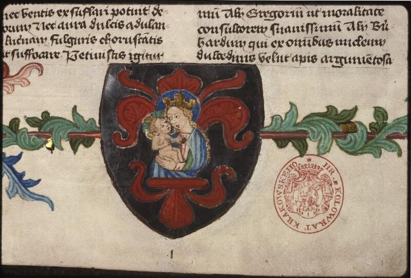 Prague, Musée nat., Bibl., XII. B. 16, f. 001 - vue 4