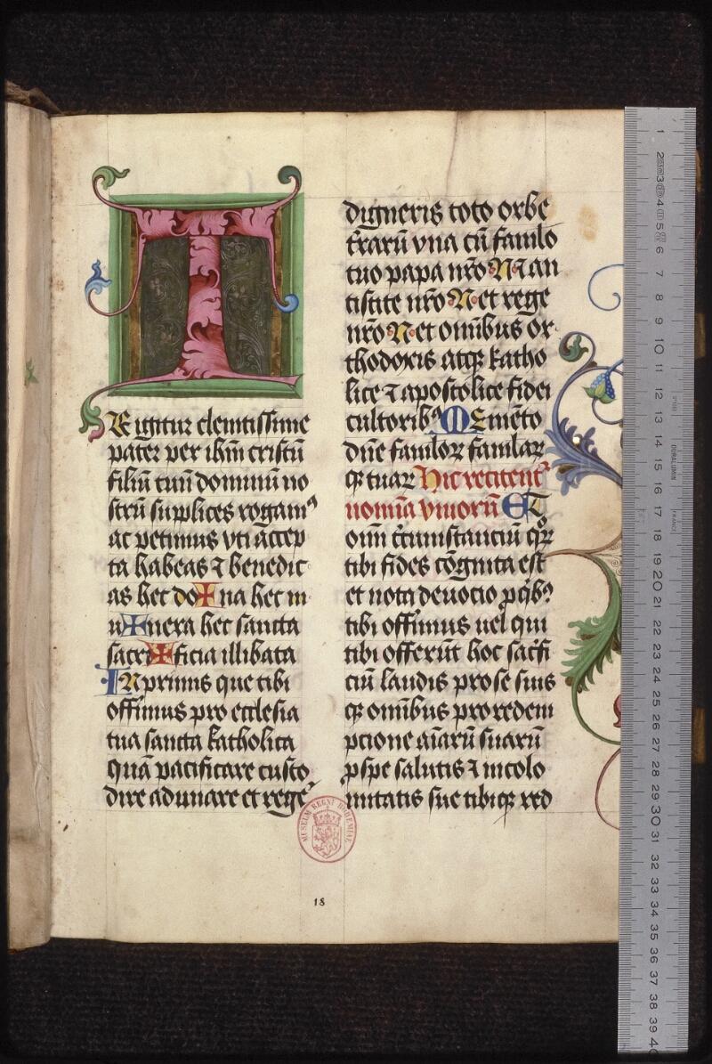 Prague, Musée nat., Bibl., XII. B. 17, f. 018 - vue 1