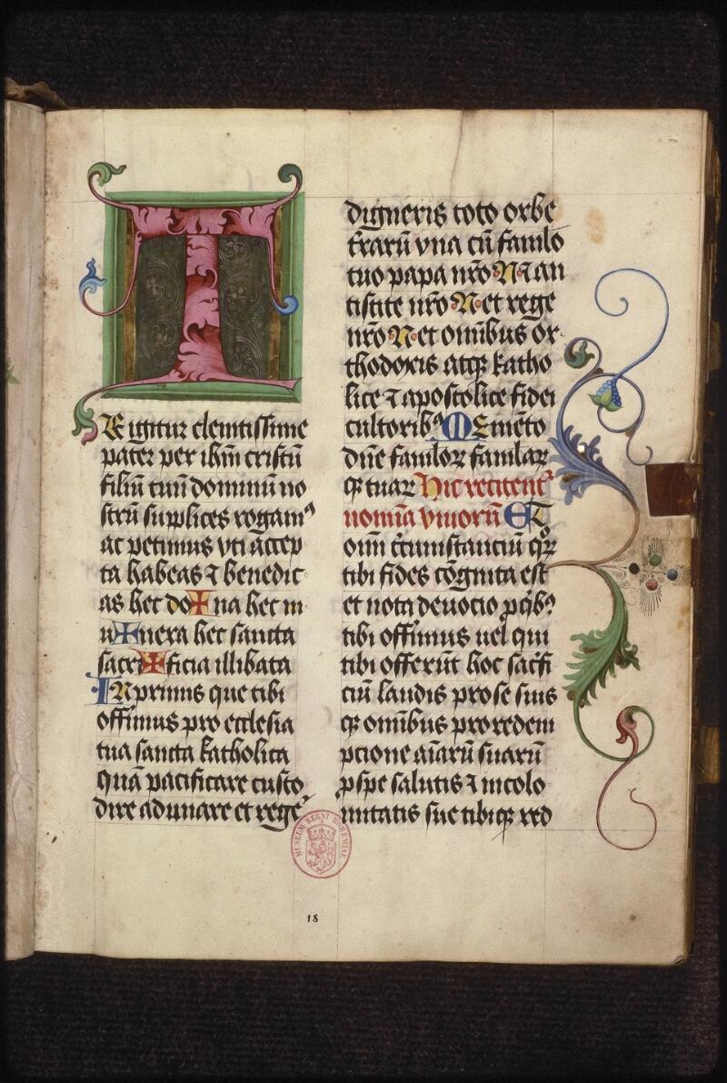 Prague, Musée nat., Bibl., XII. B. 17, f. 018 - vue 2