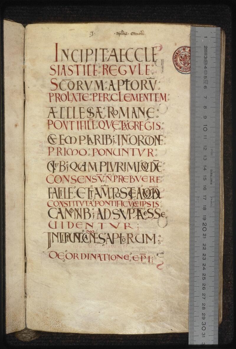 Prague, Musée nat., Bibl., XII. C. 12, f. 016 - vue 1