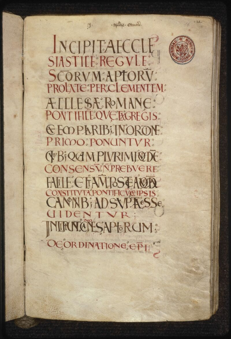 Prague, Musée nat., Bibl., XII. C. 12, f. 016 - vue 2