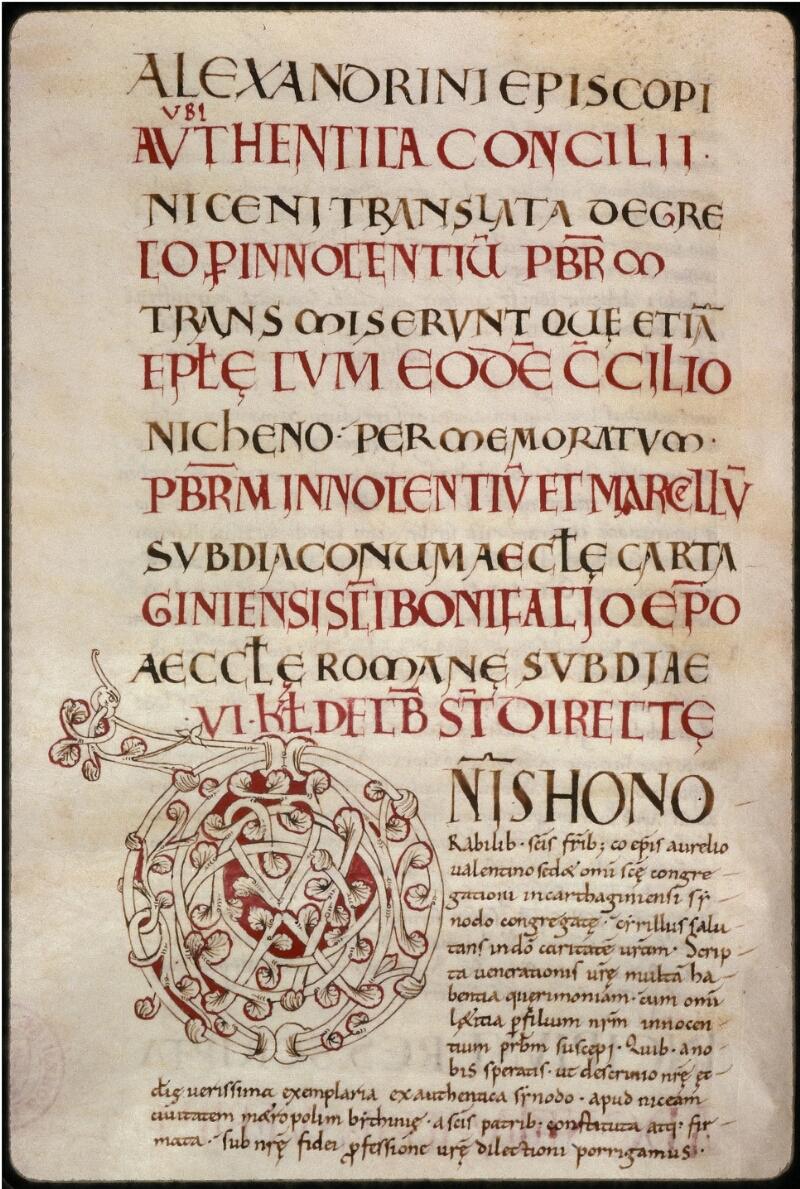 Prague, Musée nat., Bibl., XII. C. 12, f. 069v - vue 1