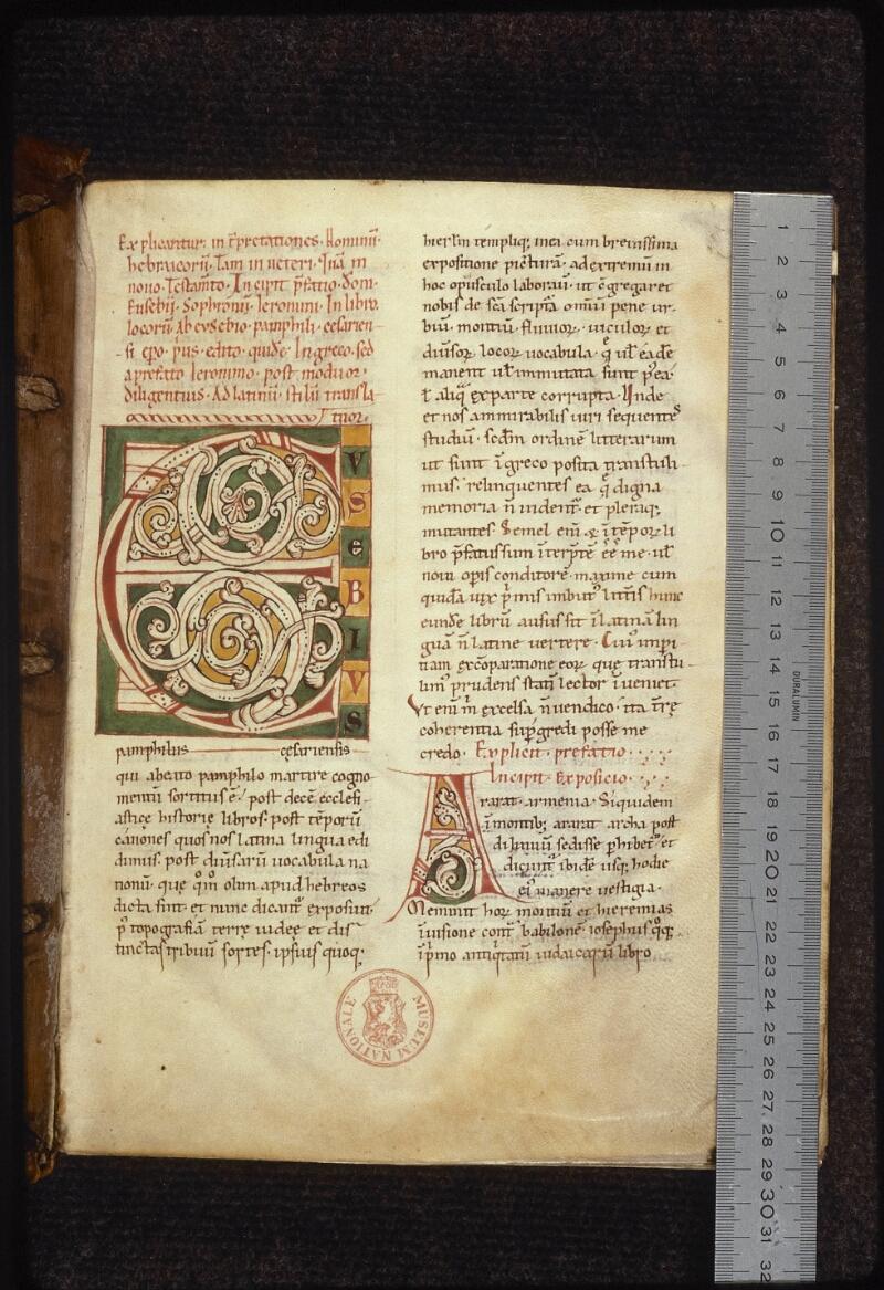 Prague, Musée nat., Bibl., XII. D. 15, f. 001 - vue 1
