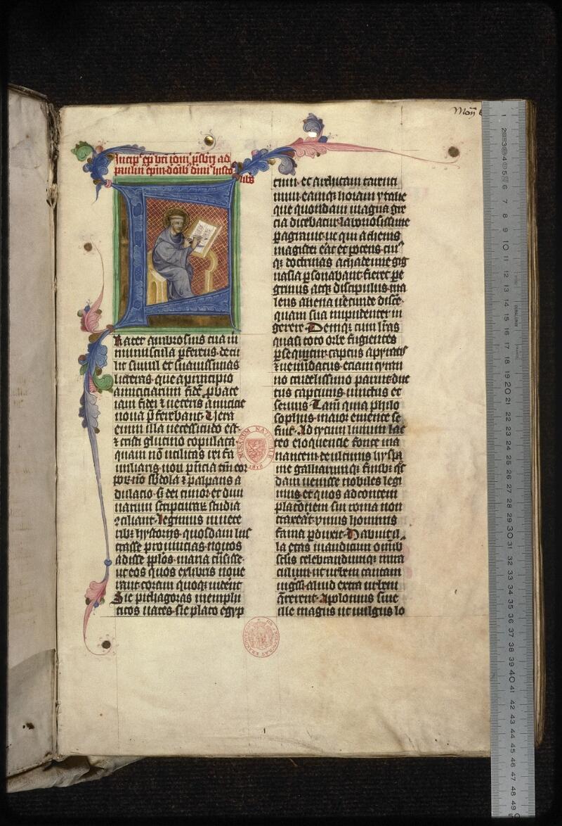 Prague, Musée nat., Bibl., XIII. A. 08, f. 001 - vue 1