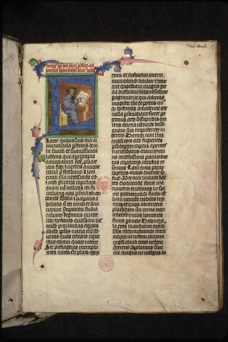 Prague, Musée nat., Bibl., XIII. A. 08, f. 001 - vue 2