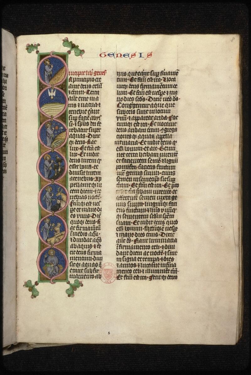 Prague, Musée nat., Bibl., XIII. A. 08, f. 008 - vue 1