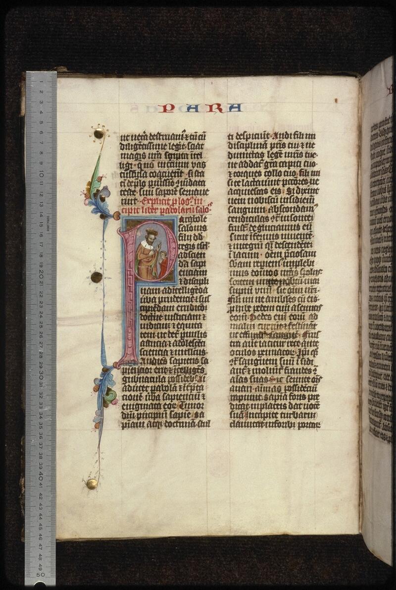 Prague, Musée nat., Bibl., XIII. A. 10, f. 002v - vue 1