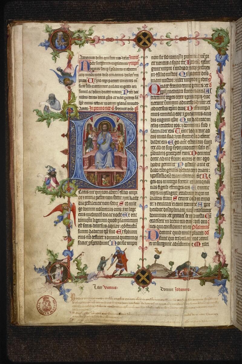Prague, Musée nat., Bibl., XIII. A. 12, f. 009v - vue 1