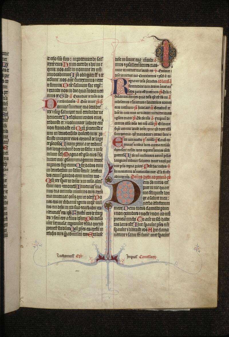 Prague, Musée nat., Bibl., XIII. A. 12, f. 014