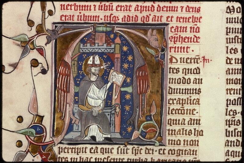Prague, Musée nat., Bibl., XIII. A. 13, f. 001v - vue 3