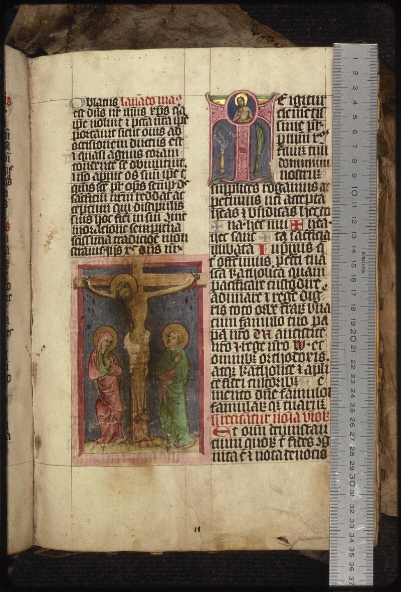 Prague, Musée nat., Bibl., XIII. B. 08, f. 011 - vue 1