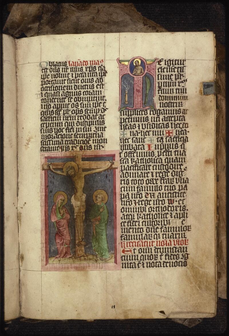 Prague, Musée nat., Bibl., XIII. B. 08, f. 011 - vue 2