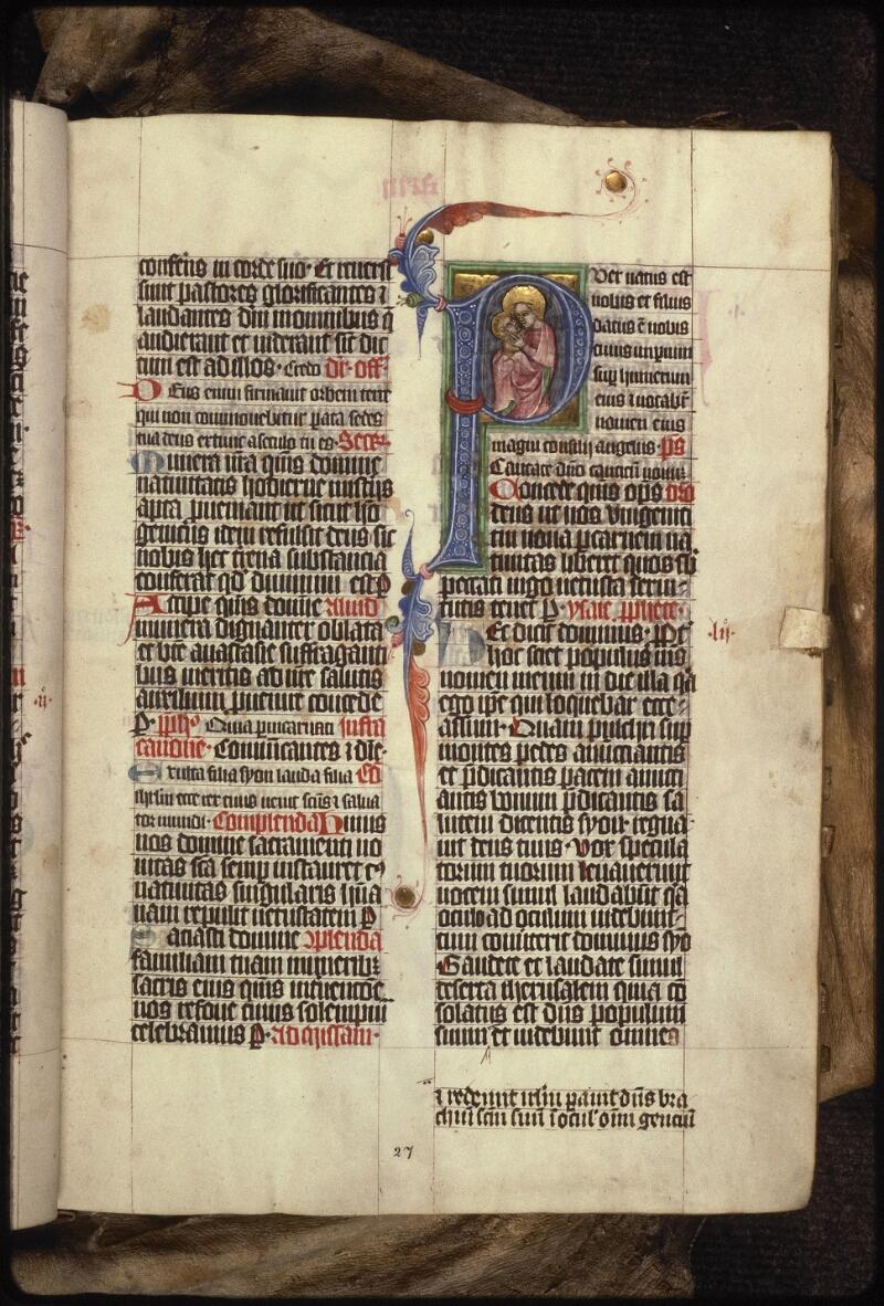 Prague, Musée nat., Bibl., XIII. B. 08, f. 027 - vue 1