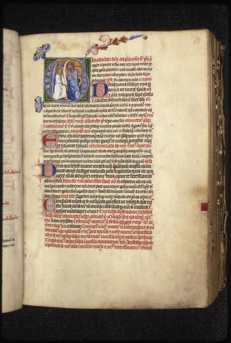 Prague, Musée nat., Bibl., XIII. C. 01, f. 088 - vue 2