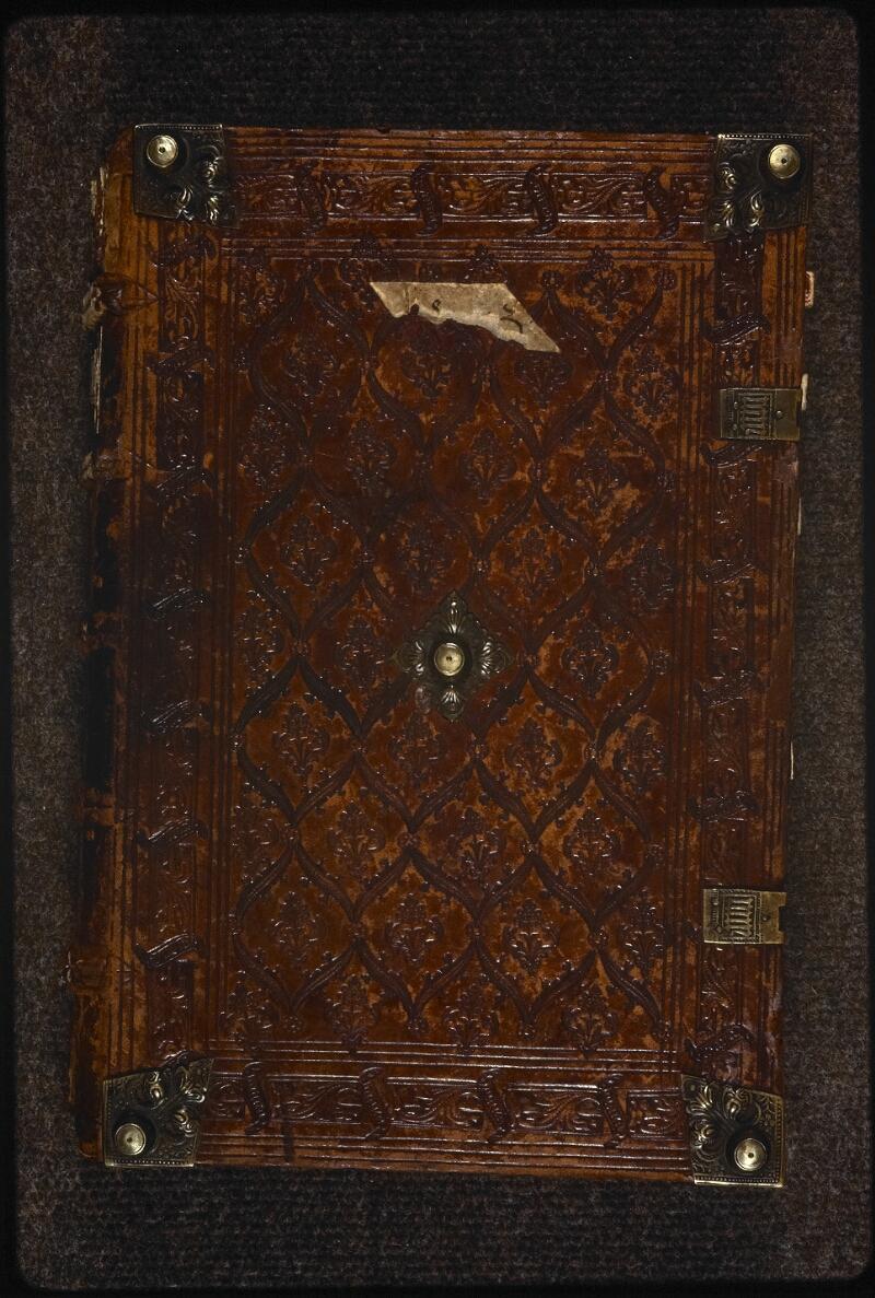 Prague, Musée nat., Bibl., XIII. C. 12, reliure plat sup.