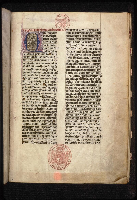 Prague, Musée nat., Bibl., XIII. C. 12, f. 002 - vue 2