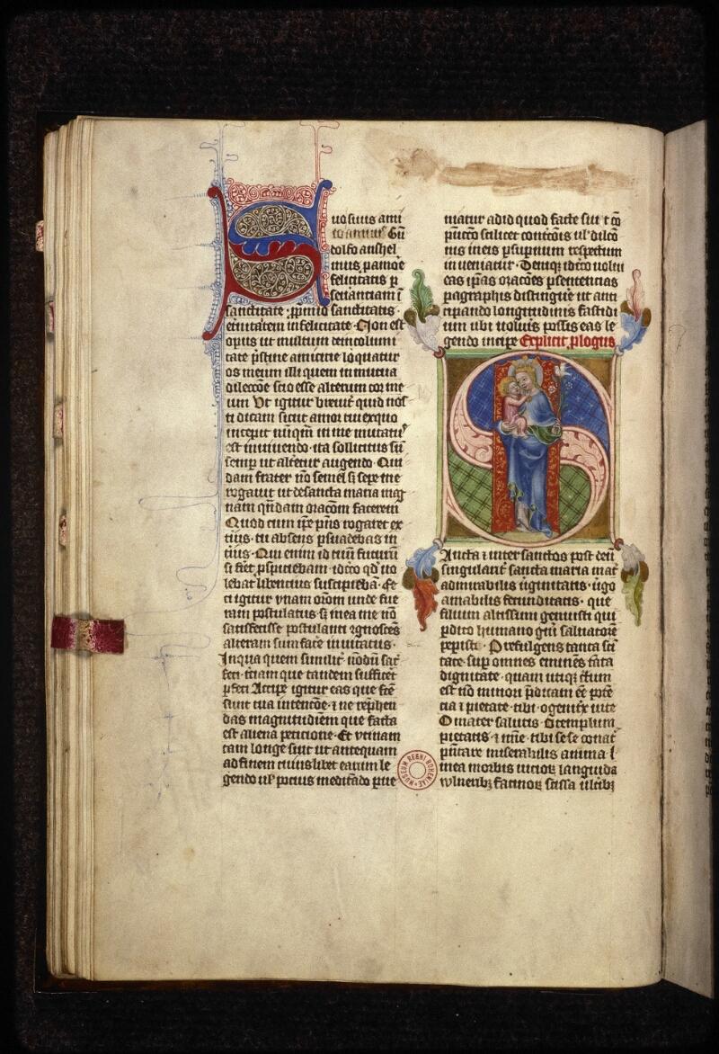 Prague, Musée nat., Bibl., XIII. C. 12, f. 041v - vue 1