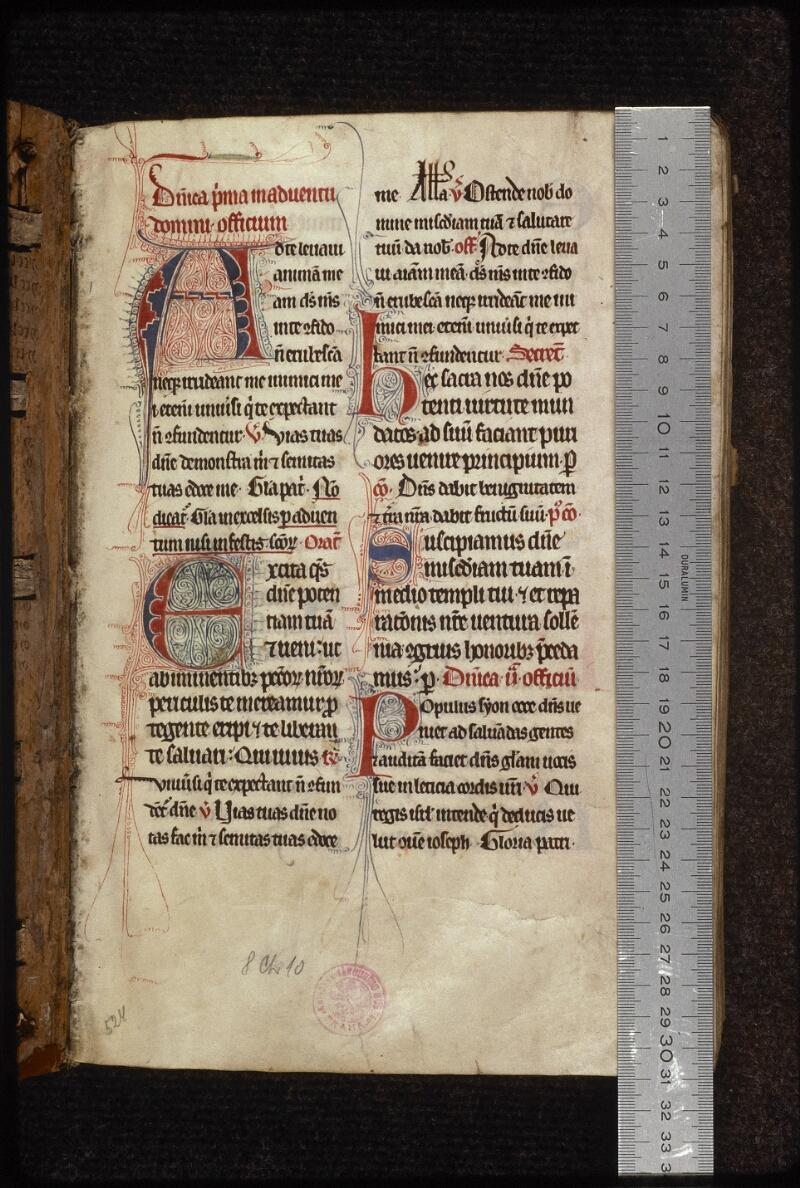 Prague, Musée nat., Bibl., XIII. C. 18, f. 001 - vue 1