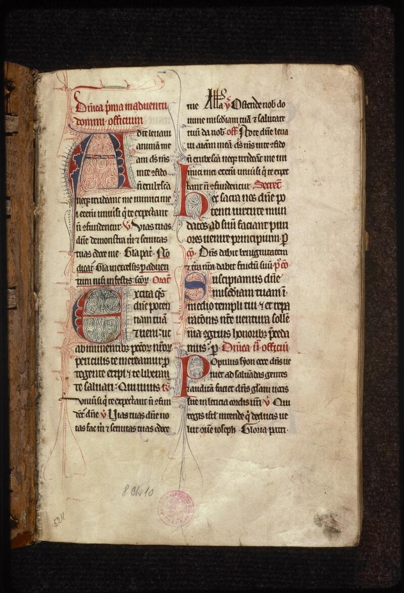 Prague, Musée nat., Bibl., XIII. C. 18, f. 001 - vue 2