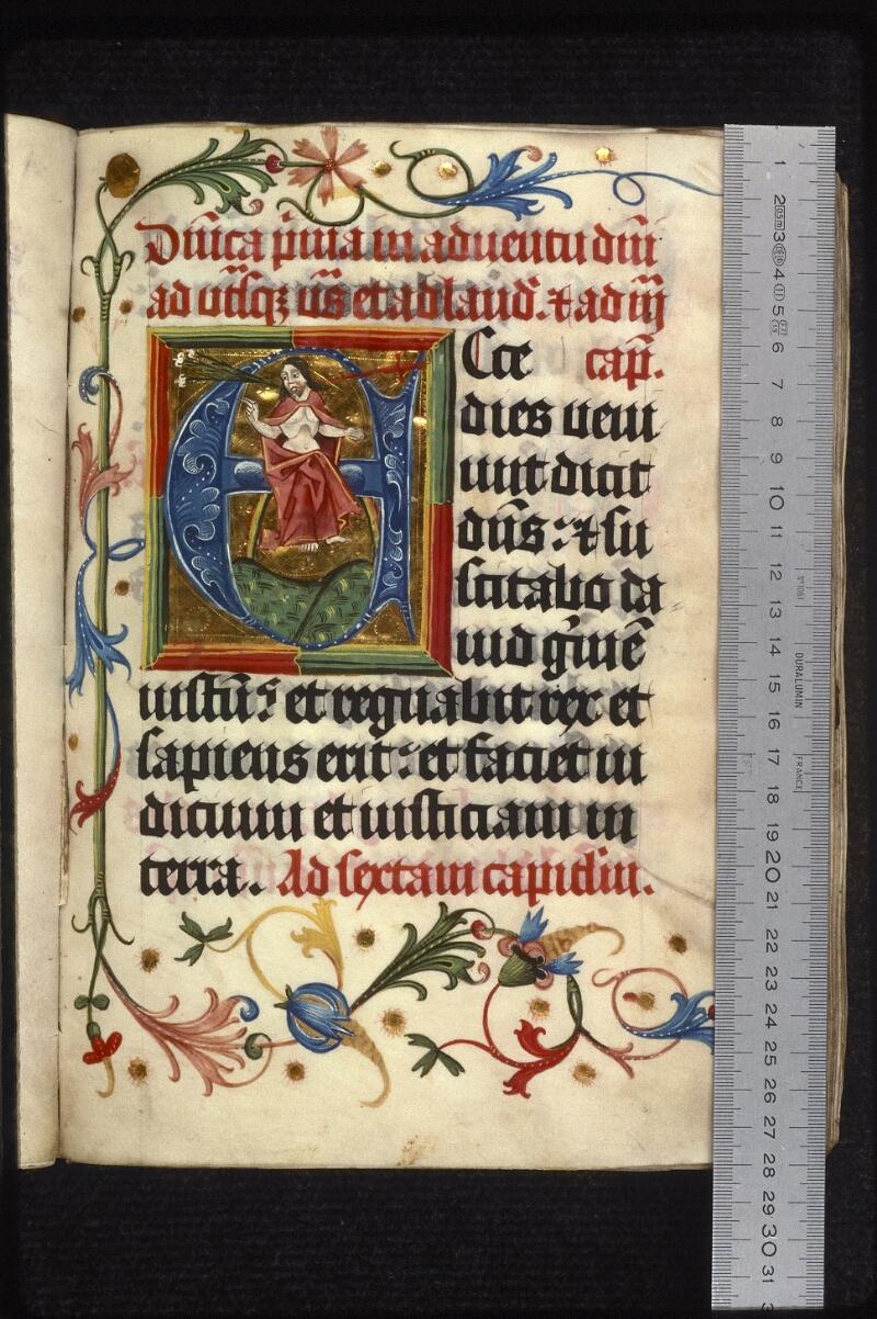 Prague, Musée nat., Bibl., XIII. E. 16, f. 016 - vue 1